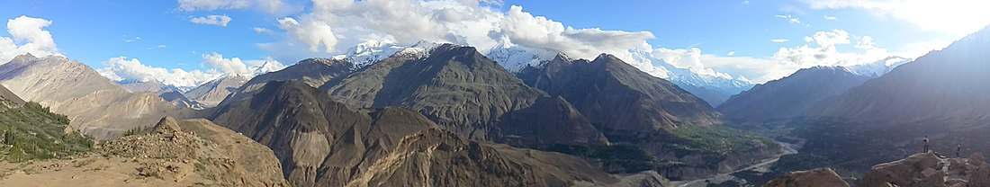 Hunza from Eagle's Nest
