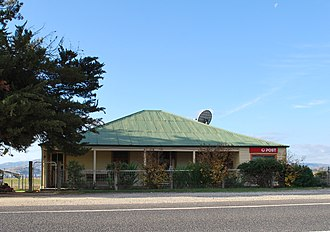 Huon, Victoria - Post office at Huon, on the Murray Valley Highway