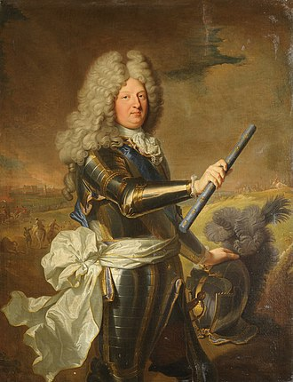 Louis, Grand Dauphin - Portrait by Hyacinthe Rigaud