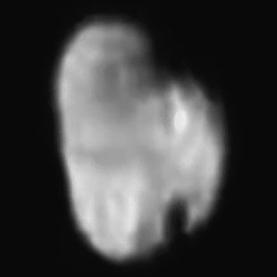 Hydra, aufgenommen von der Raumsonde New Horizons am 14.Juli 2015