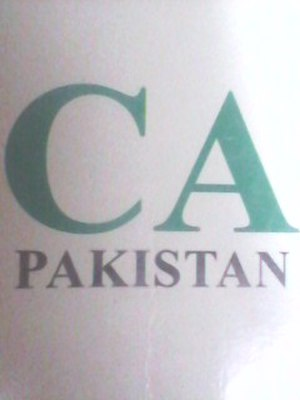 Institute of Chartered Accountants of Pakistan - ICAP Logo for Chartered Accountancy Qualification and Profession in Pakistan. And it was introduced in 2013-14