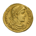 INC-1889-a Солид. Валент II. Ок. 364—367 гг. (аверс).png