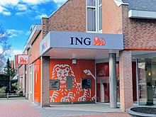 An Ing Bank In Nieuw Vennep The Netherlands