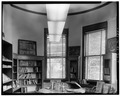 INTERIOR VIEW OF TOWER ROOM, NORTHEAST CORNER - Paola Free Library, 101 East Peoria Street, Paola, Miami County, KS HABS KANS,61-PAOLA,1-7.tif