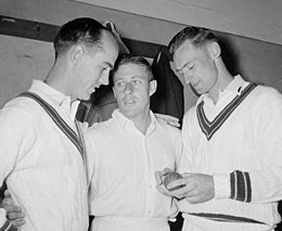 Ian Craig, Johnny Martin and Brian Booth 1960.jpg