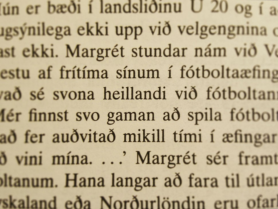 Icelandic Text Extract