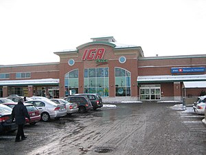 IGA (supermarkets) - Image: Igaqc