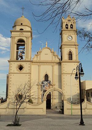 Cadereyta Jiménez, Nuevo León - San Juan Bautista Church.