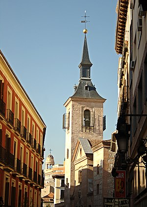 San Ginés, Madrid - Bellfry of the San Ginés Church.