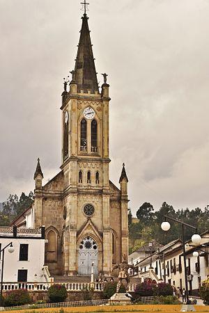 Ventaquemada - Image: Iglesia del Rosario en Ventaquemada