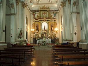 Arañuel - St. Michael's church, Arañuel