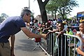 Illinois State Senator Daniel Biss at the Bud Billiken Parade 2015 (19806029774).jpg