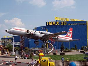 Illusin IL-18 OK-PAI at Sinsheim, Germany 02May2009.jpg