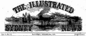 Illustrated Sydney News - Logo on front page