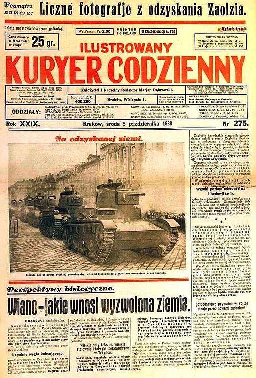Ilustrowany Kuryer Codzienny 5 X 1938