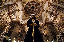 Imagen de Nuestro Padre Jesus del Rescate en la Iglesia de la Magdalena, en Granada (Spain)).jpg