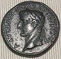 Impero, augusto, dupondio in oricalco (lione), 10 dc.JPG