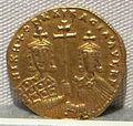 Impero romano d'oriente, niceforo II e basilio II, emissione aurea, 963-969.JPG