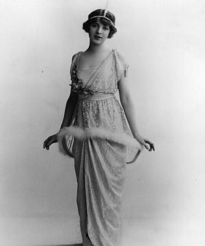 Ina Claire In the musical play, The Girl From Utah