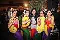 Indonesian dancegroup with presenter female Pasar Malam Rotterdam.jpg