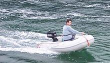 Yamaha S Inflatable Boat