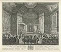 Inhuldiging van prins Willem V tot Ridder in de Orde van de Kousenband, 1752, RP-P-OB-70.024.jpg