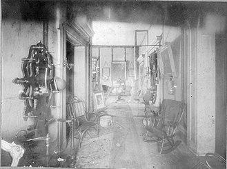 Polk Place - Hallway of Polk Place