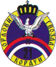 Insignia of the 21st Kordun Corps.png