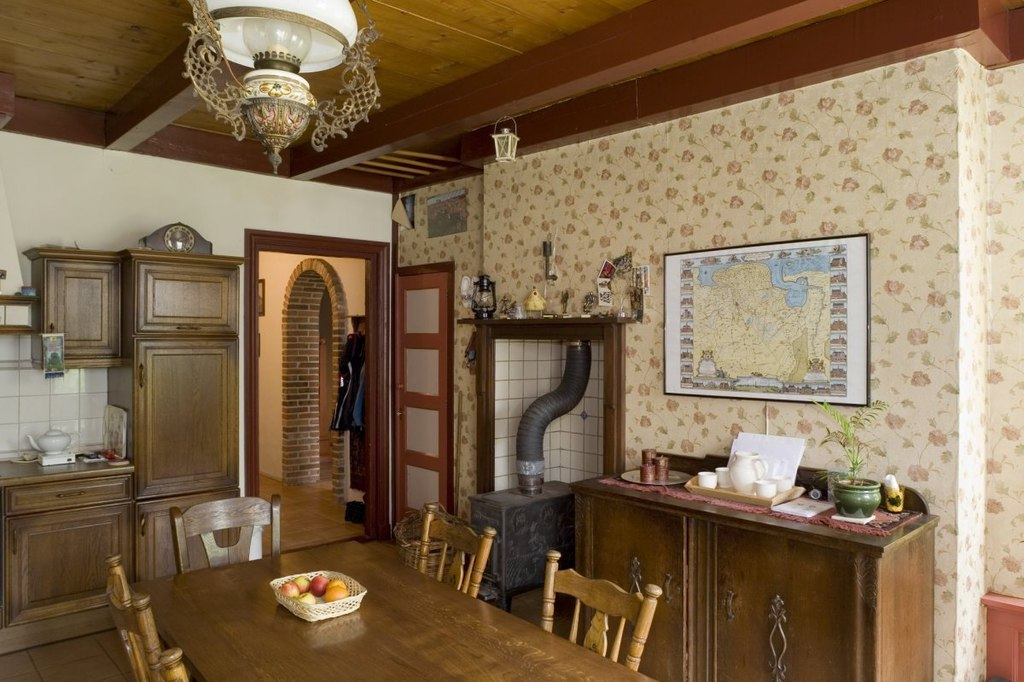 file interieur boerderij overzicht keuken weende