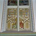 Interieur koor, schildering boven ingang sacristie, detail, na restauratie - Vierakker - 20346241 - RCE.jpg