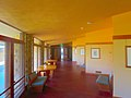 Interior of First Unitarian Society Meeting House Hallway - panoramio.jpg