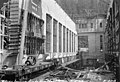 Interior of Gorge Dam Powerhouse under construction, as seen from the north end, July 6, 1923 (SPWS 159).jpg