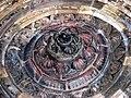 Interior of the entrance dome, Quwwat ul-Islam mosque, Qutb Minar complex.jpg