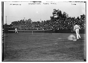 Maurice McLoughlin - McLoughlin vs. Melville H. Long on September 9, 1911 at The Championships, Wimbledon