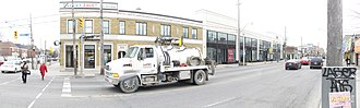 Allenby, Toronto - Allenby from northeast corner of Avenue Road and Eglinton Avenue