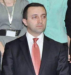 Irakli Garibashvili - Image: Irakli Gharibashvili. 2013