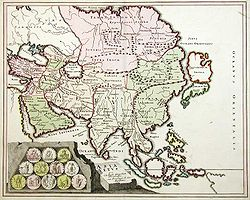 Fond Carte Asie Centrale.Asie Centrale Wikipedia