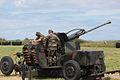Irish Army Bofors Gun getting ready (4746227784).jpg