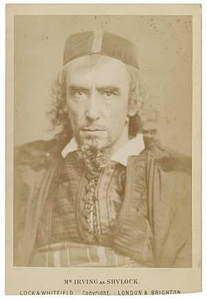 Shylock - Henry Irving as Shylock in a late 19th century performance