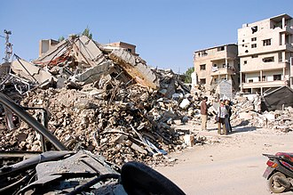 Operation Sharp and Smooth - Israeli bombing in Baalbek