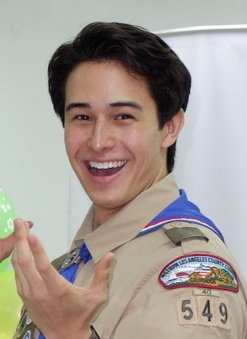 Ivan Dorschner celebrates birthday with the Boy Scouts of the Philippines