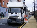 Iveco Horsebox. Police Welcome for Leeds United, Leyton E10 Feb 2010 - Flickr - sludgegulper.jpg