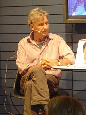 Jørgen de Mylius - During the Danish book fair, BogForum 2008, at Forum Copenhagen