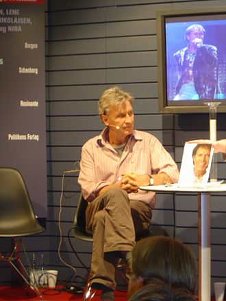 Jørgen de Mylius - During the Danish book fair, BogForum 2008, at Forum Copenhagen