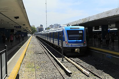 How to get to Estación Once with public transit - About the place