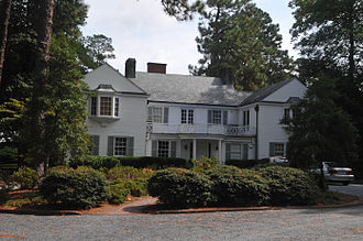 Aymar Embury II - The James Boyd House (1920s), in Southern Pines, North Carolina, listed on the National Register of Historic Places