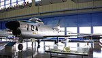 JASDF F-86D(84-8104) left front view at Hamamatsu Air Base Publication Center November 24, 2014.jpg