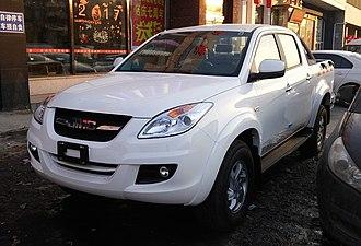 Ford Ranger (T6) - JMC Yuhu