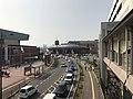 JMSDF Kure Museum from Kure-Takaramachi Footbridge 1.jpg