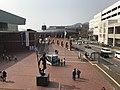 JMSDF Kure Museum from Kure-Takaramachi Footbridge 2.jpg
